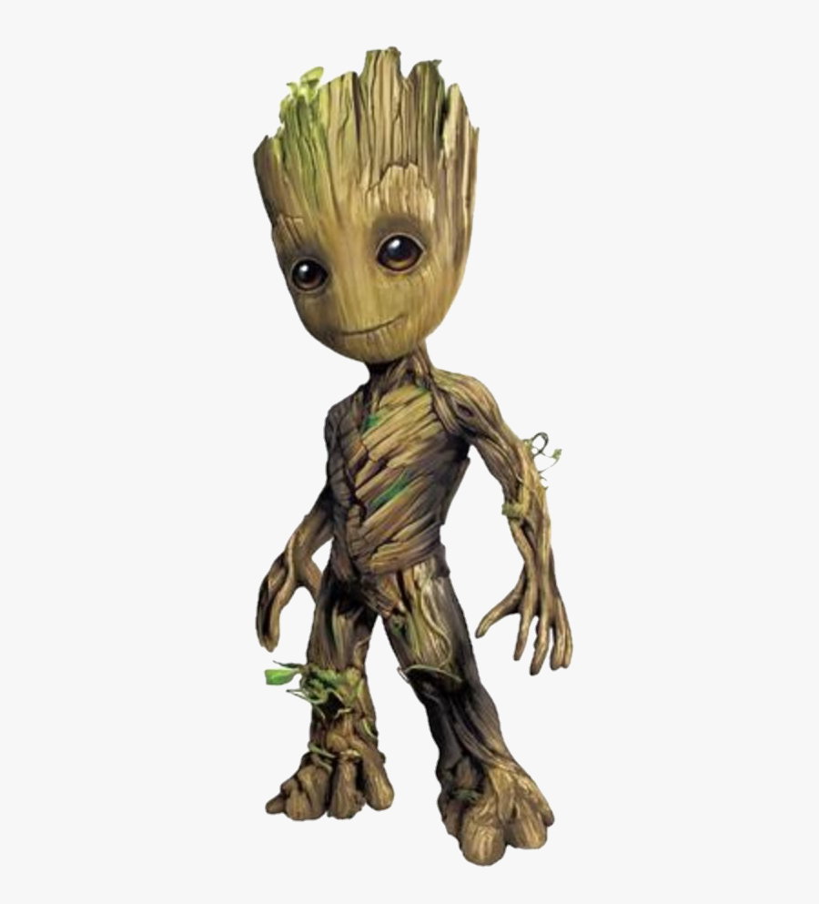 Baby Groot - Baby Groot Cardboard Cutout, Transparent Clipart