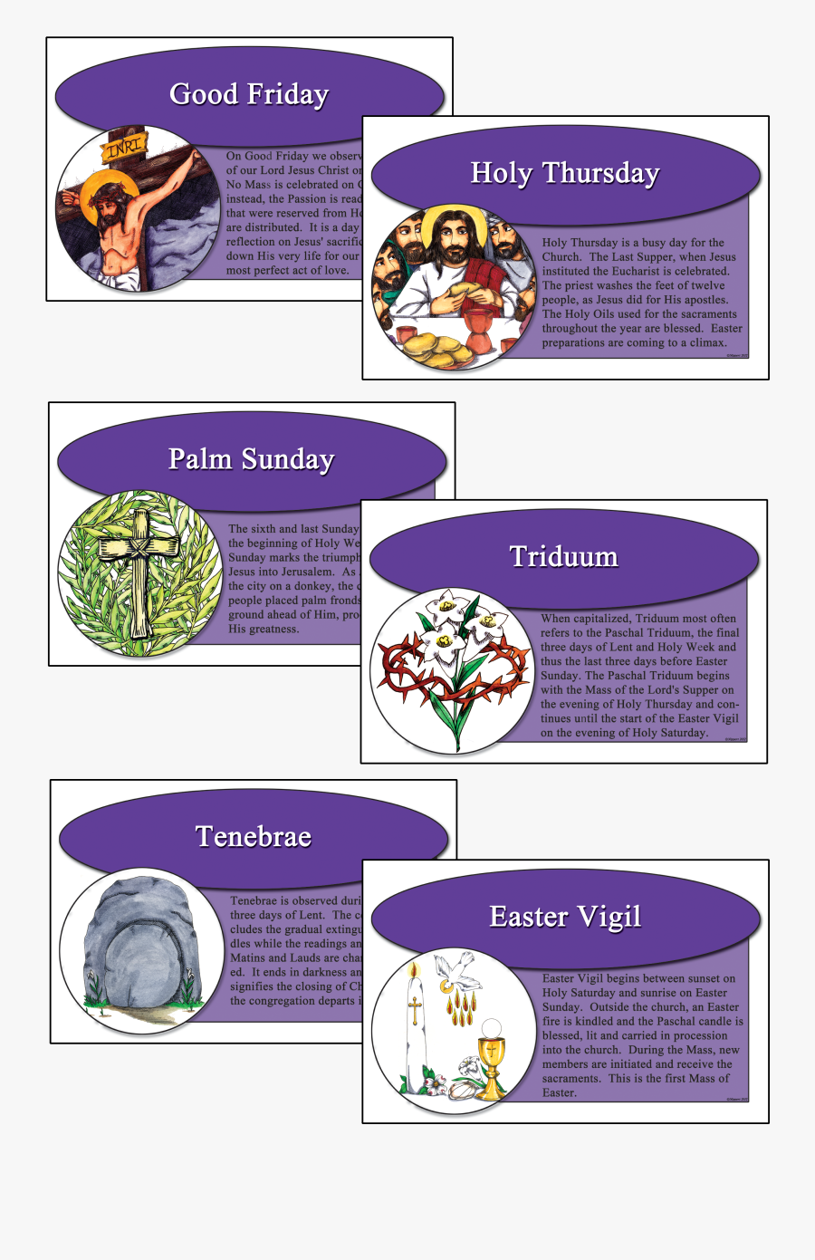 Liturgical Objects During Holy Week, Transparent Clipart