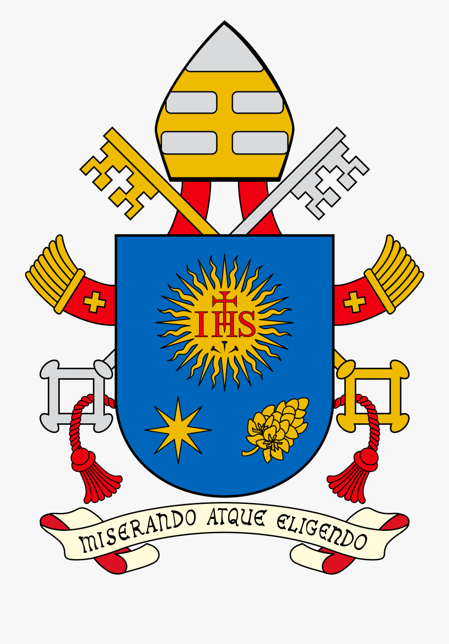 Pope Francis Coat Of Arms, Transparent Clipart