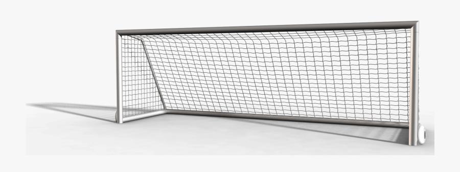 Transparent Soccer Field Clipart - Net, Transparent Clipart