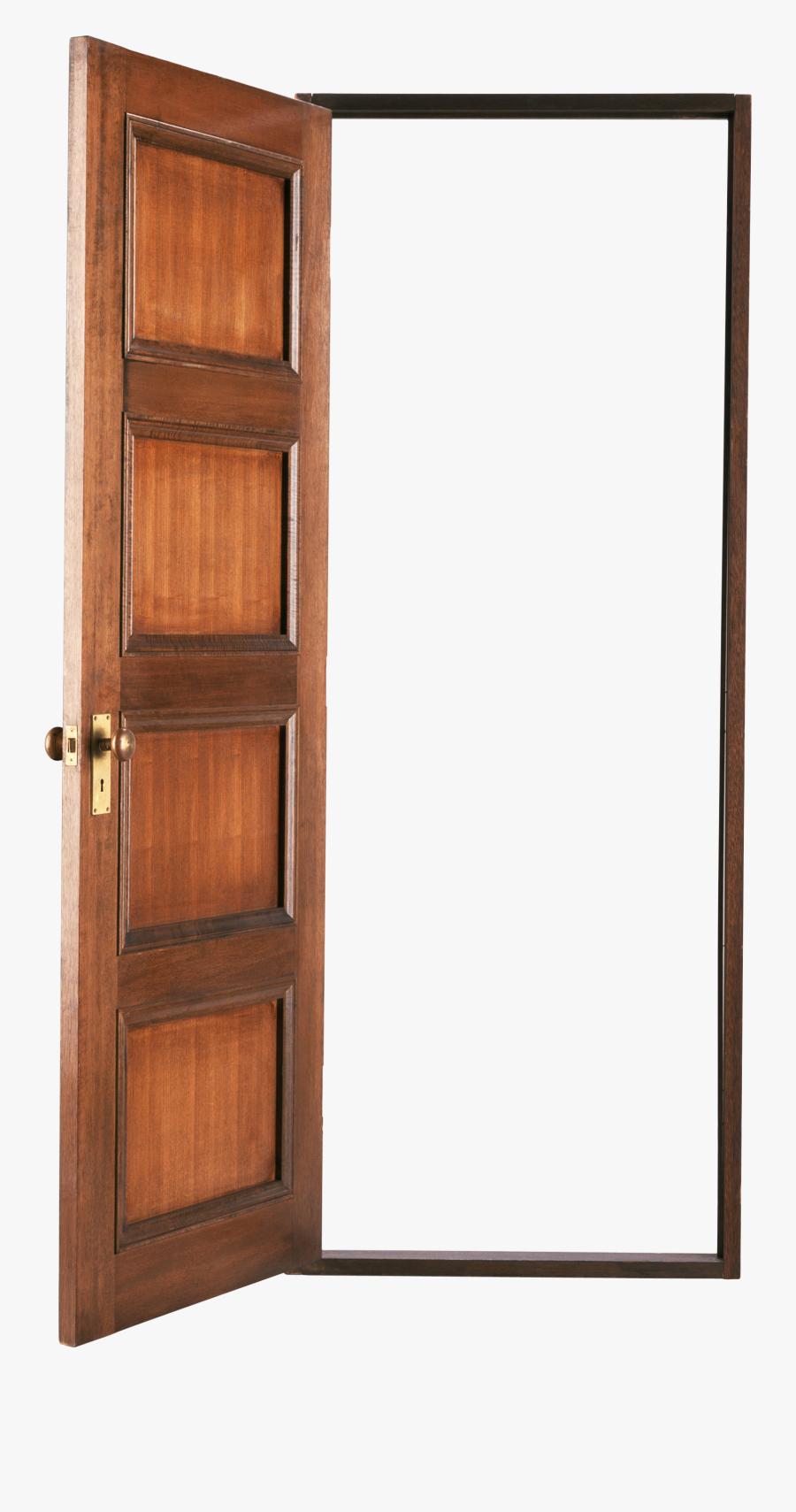 Transparent Knocking On Door Clipart - Open Door No Background, Transparent Clipart