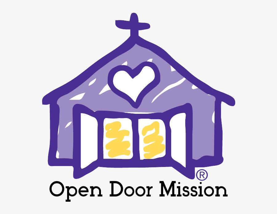 Open Door Mission Omaha, Transparent Clipart