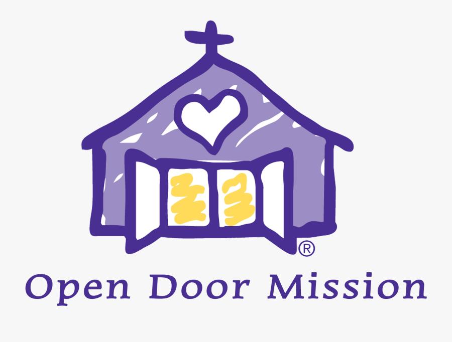 Open Door Mission Omaha Logo, Transparent Clipart