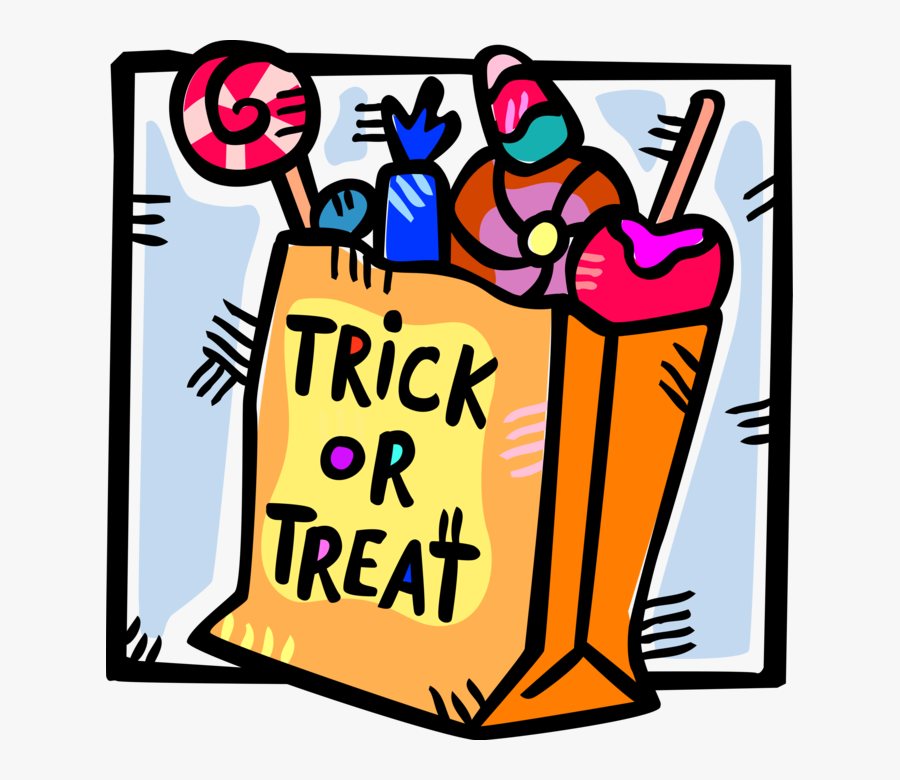 Piqkdb8rt - Trick Or Treat Candy Clipart, HD Png Download -  1201x874(#1297048) - PngFind