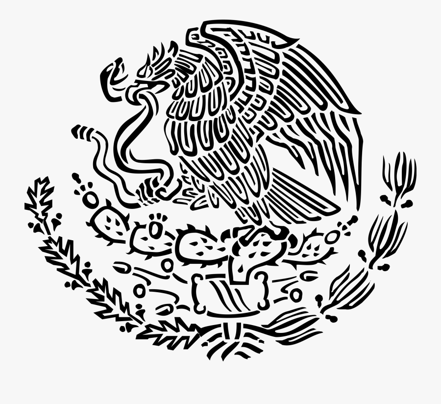 Cliparts For Free Download Mexico Clipart Drawing And - Mexico Coat Of Arms Vector, Transparent Clipart