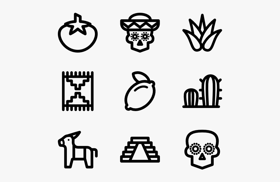 Png Black And White Download Icons Free Elements Lineal - Vector Cat Icon Png, Transparent Clipart