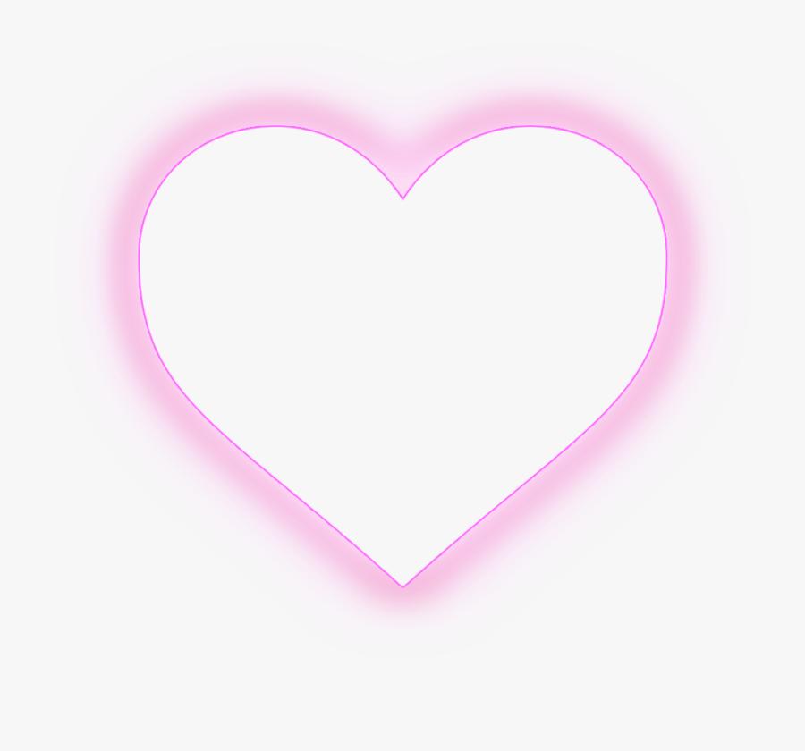 Heart Kawaii Cute Tumblr Hearts Ftestickers - Heart, Transparent Clipart