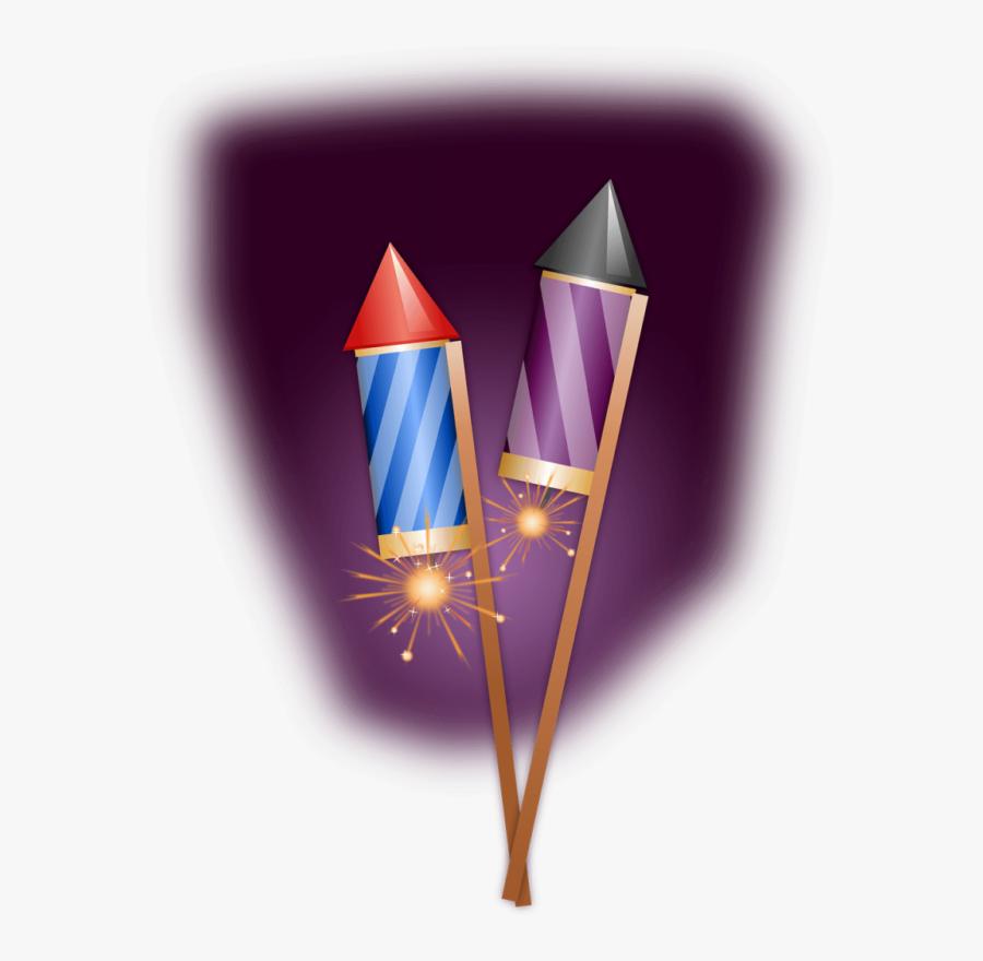 Firecracker Firework Rocket Png, Transparent Clipart