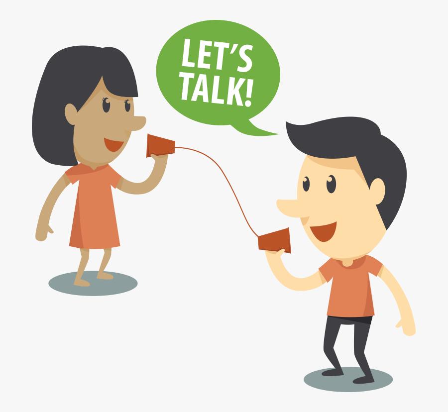 Speech And Language Cartoon, Transparent Clipart