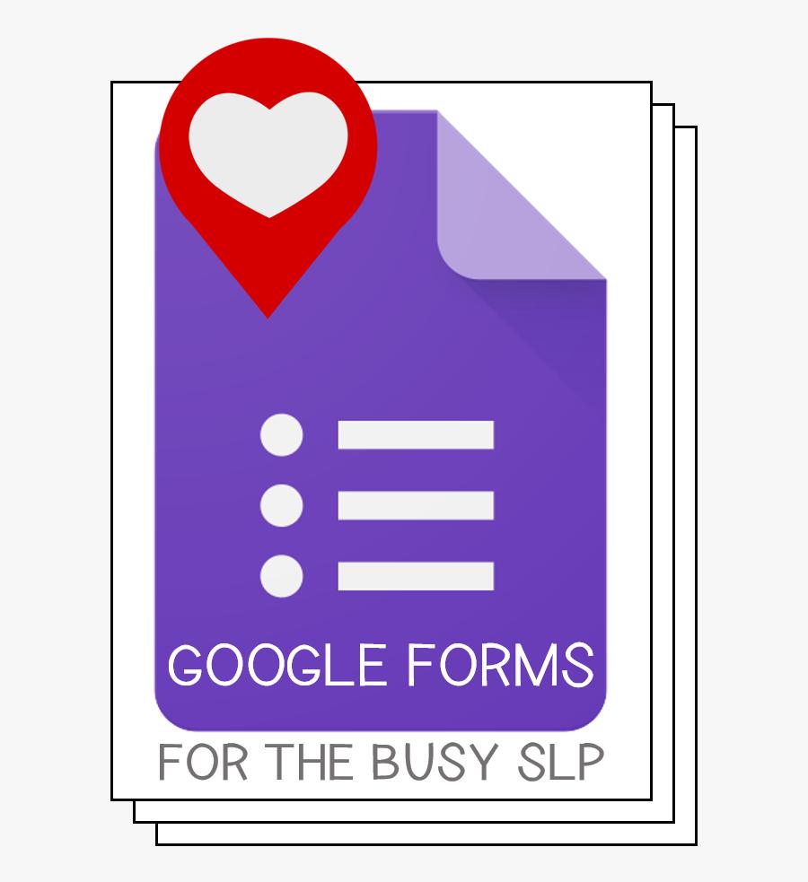 Google Forms App Icon, Transparent Clipart