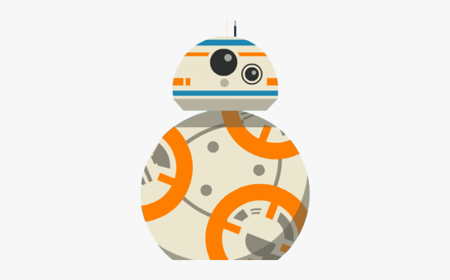 Bb8 Star Wars Cartoon Free Transparent Clipart Clipartkey