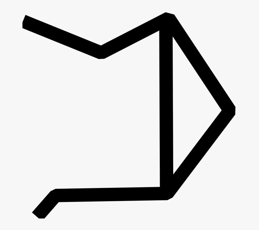 Stargate, Chevron, Symbol, Stargate Address, Tv Show - Stargate Chevron Symbols, Transparent Clipart