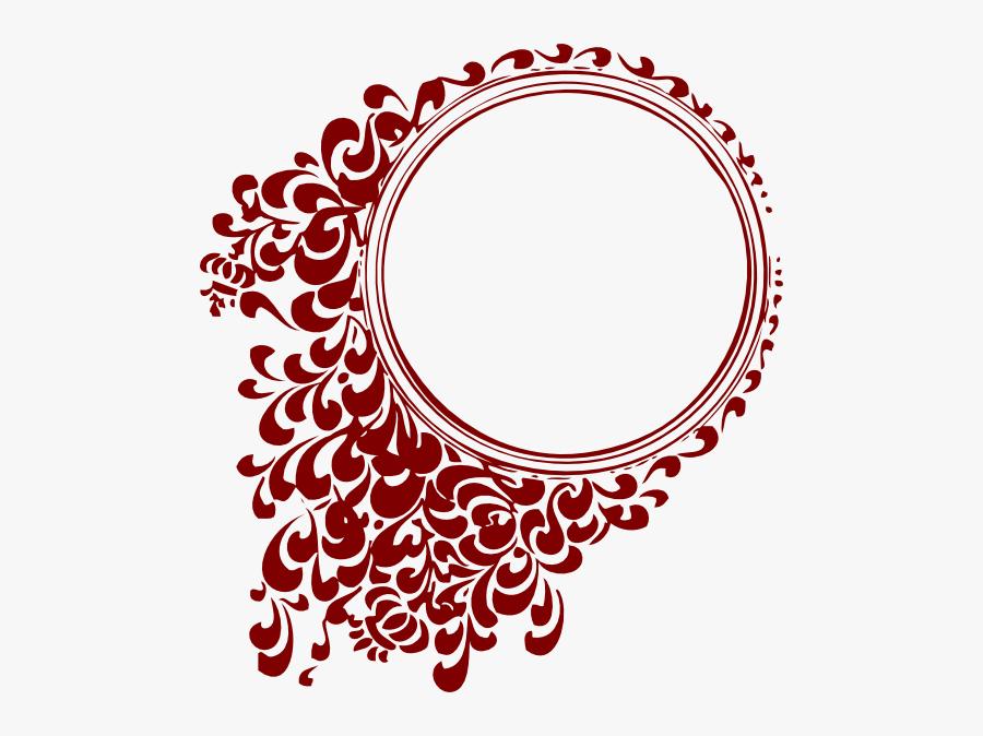 Scallop Label Graphic Amp Label Envy Clipart Images - Circle Frame Hd, Transparent Clipart