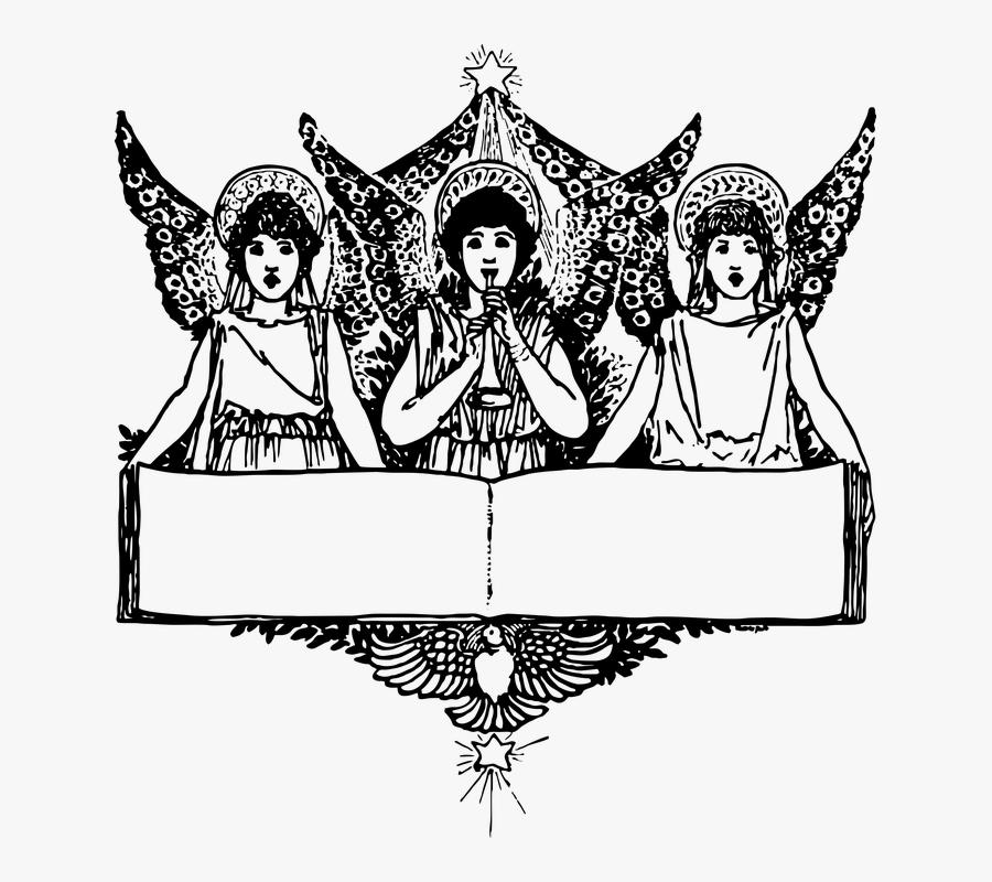Transparent Christmas Angel Png - Graphic Angels, Transparent Clipart