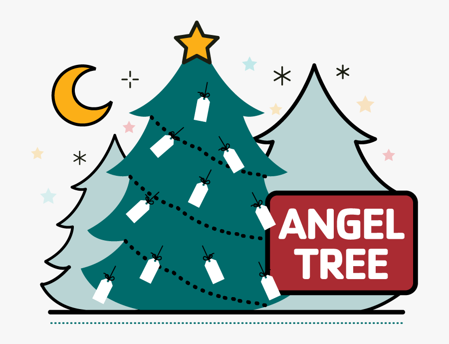 Angel Tree Clipart , Png Download - Angel Tree, Transparent Clipart