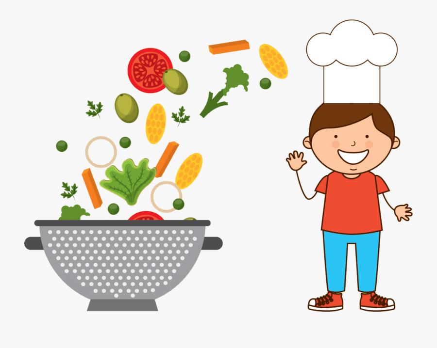 Cook Desenhos De Prato De Alimentos Saudaveis Free Transparent