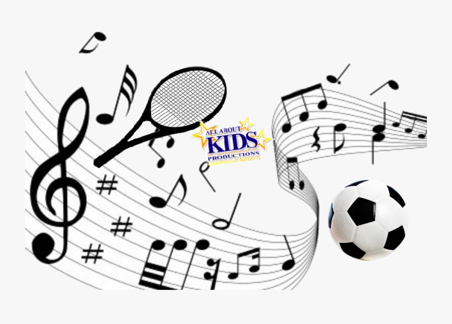 Transparent Music Clipart For Kids - Music Notes, Transparent Clipart