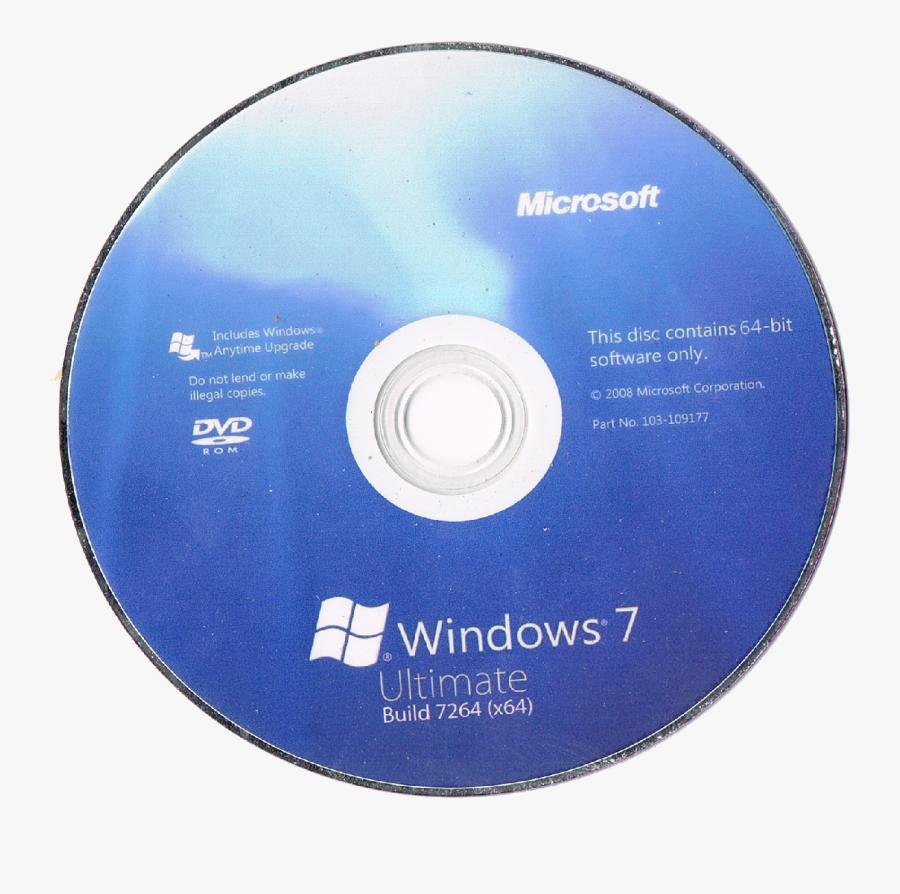 Windows Cover Cd Photos X86-64 Xp Microsoft Clipart - Windows 7 Cd Cover, Transparent Clipart