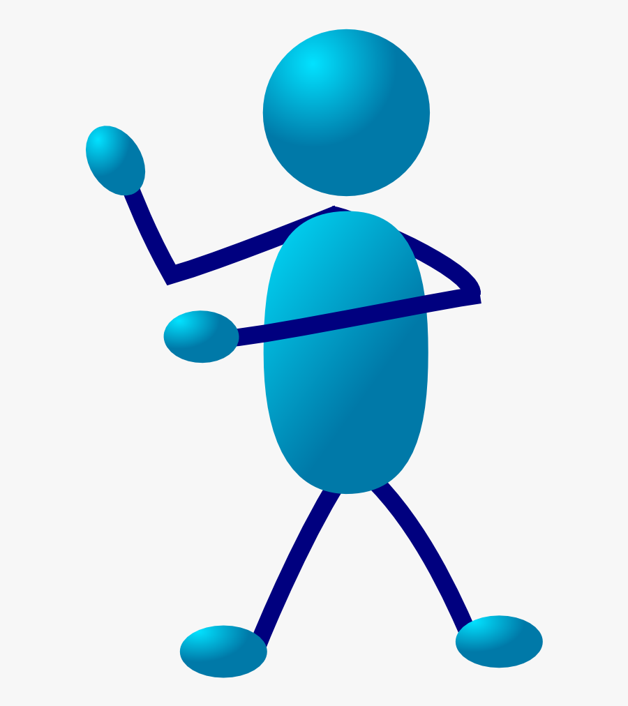 "Free Clip Art ""stickman - Stick People Clip Art, Transparent Clipart"