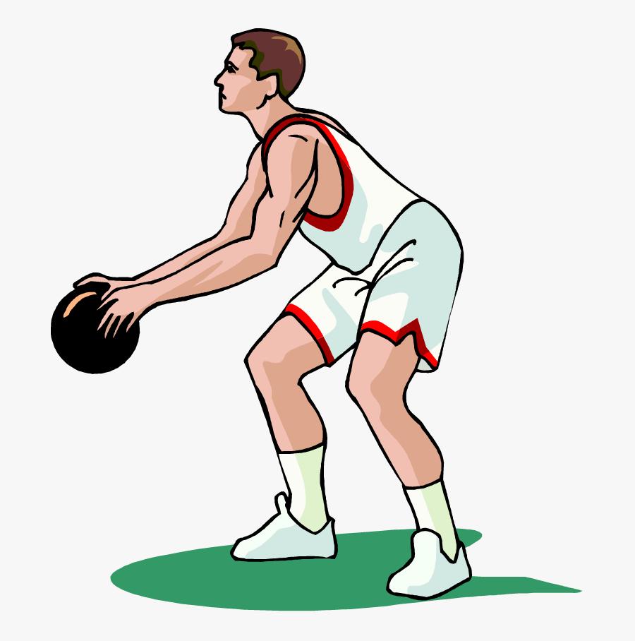Basketball Player Vector Gif, Transparent Clipart