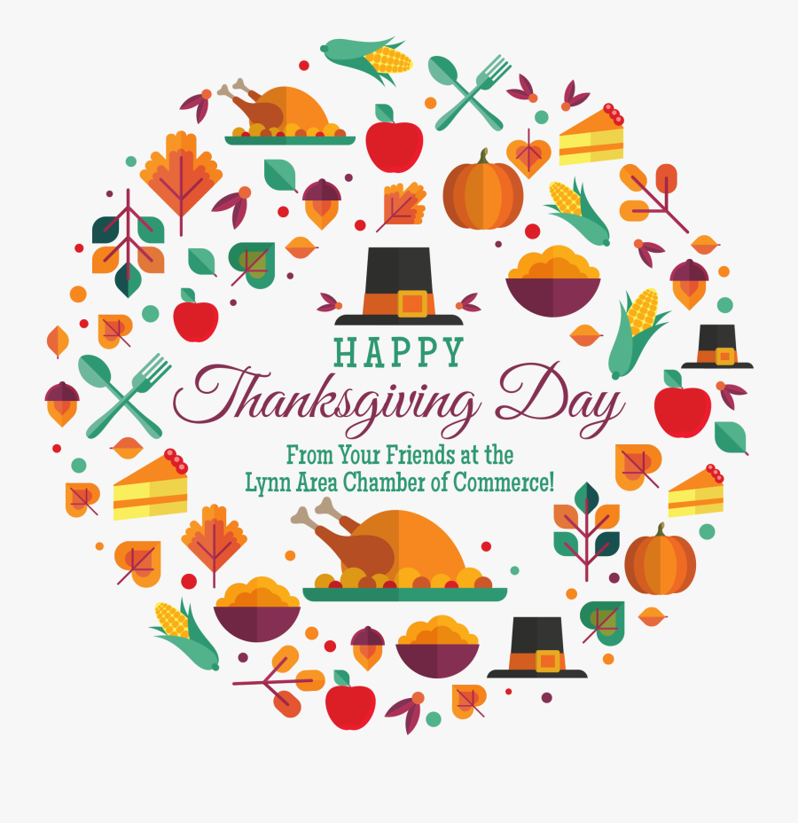 Happy Thanksgiving Day Wish Place Cards Holiday - Thanksgiving, Transparent Clipart