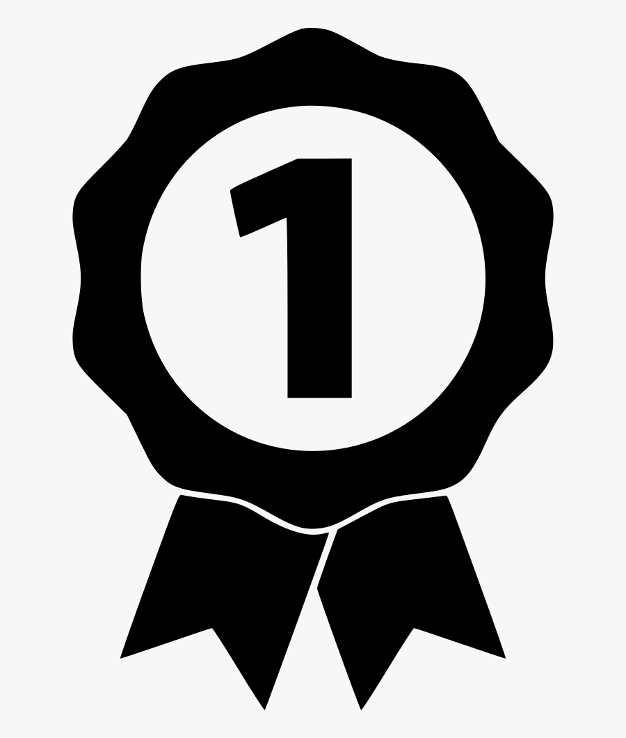 Number One Badge - Number One Badge Png, Transparent Clipart