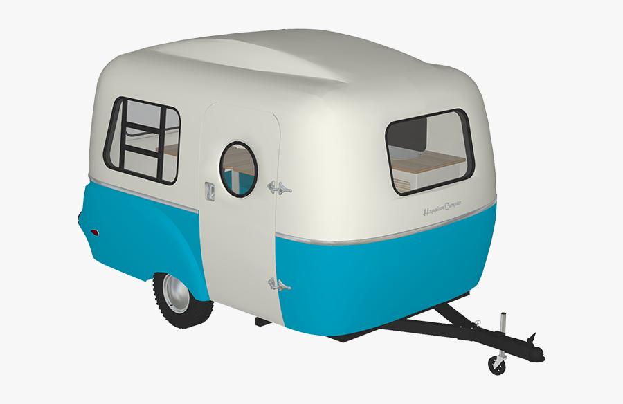 Happier Camper, Inc - Travel Trailer, Transparent Clipart