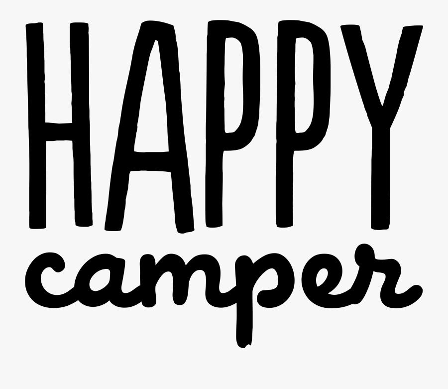 Happy Camper Transparent Background, Transparent Clipart