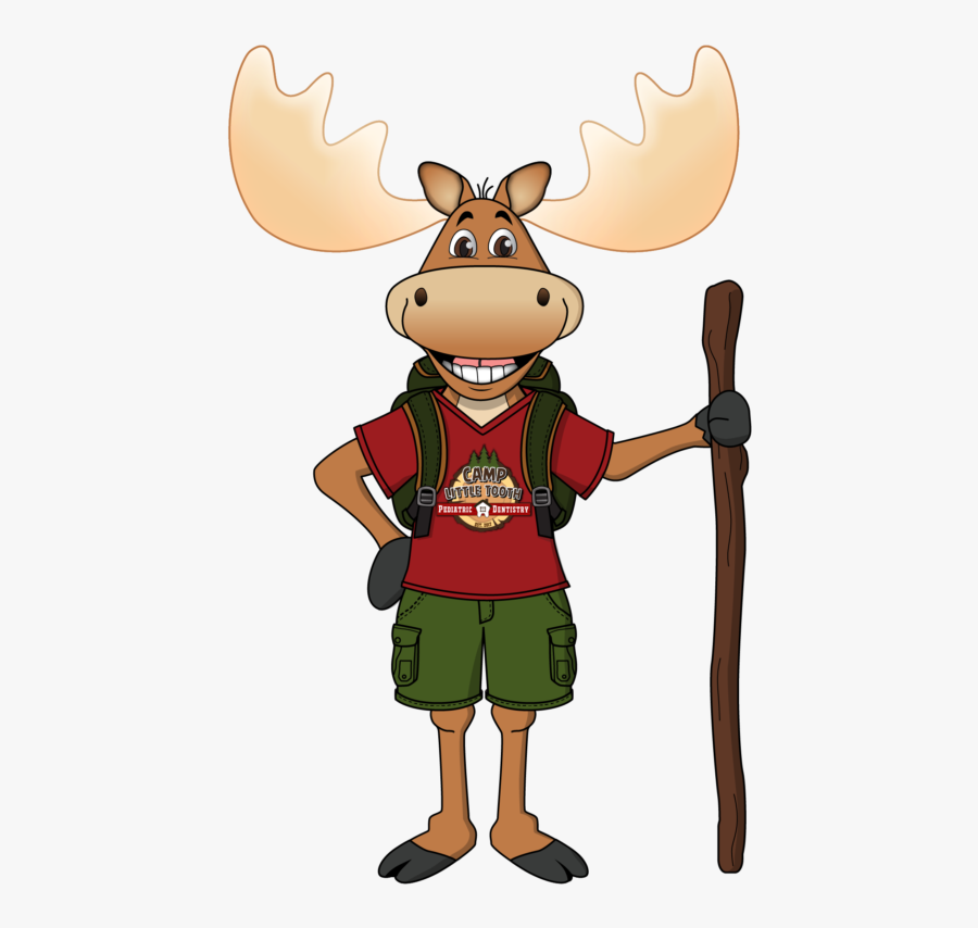 Moose Bodyc5 Fin-01 - Camp Little Tooth Pediatric Dentistry, Transparent Clipart
