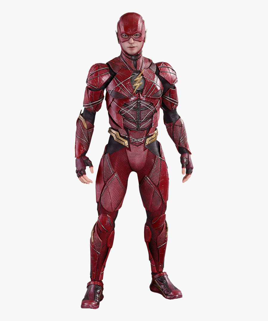 Clip Art Dc Comics The Sixth - Justice League The Flash Hot Toys, Transparent Clipart