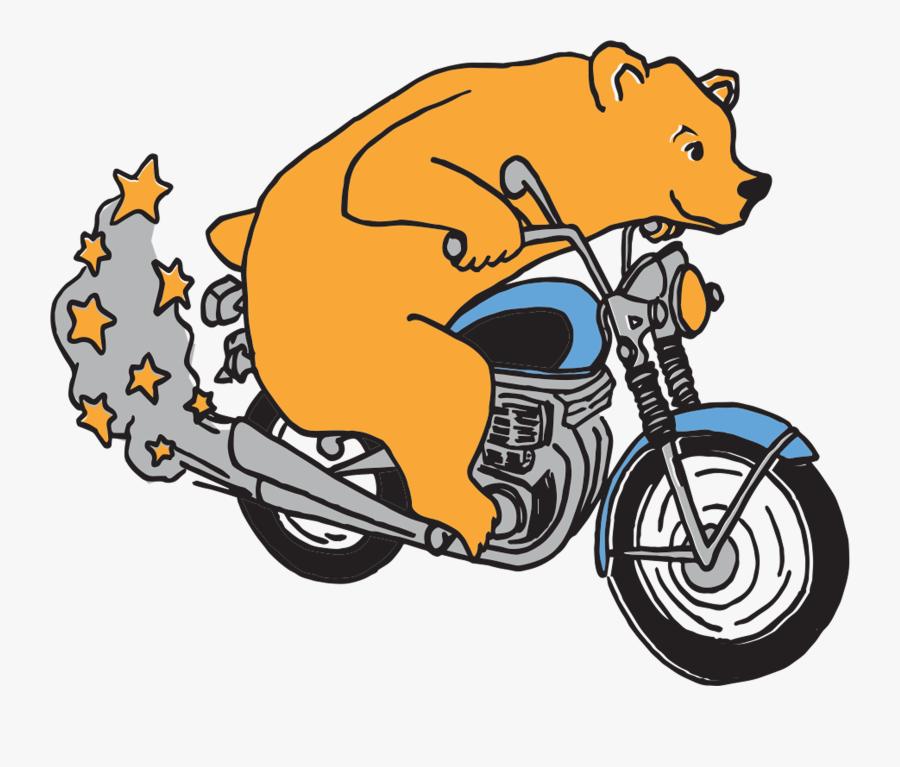 Bear Sticker - Summer Salt Happy Camper, Transparent Clipart