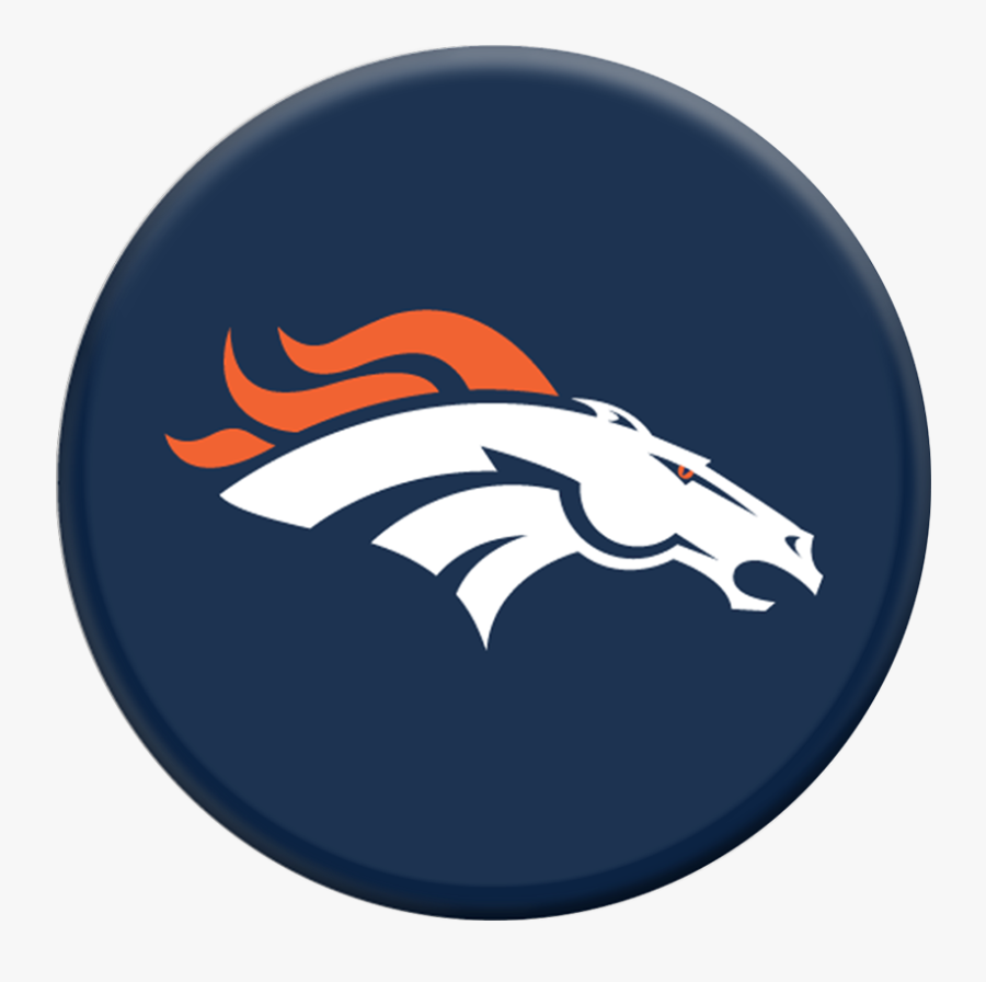 Clip Art Nfl Denver Helmet Popsockets - Broncos Vs Seahawks 2019, Transparent Clipart