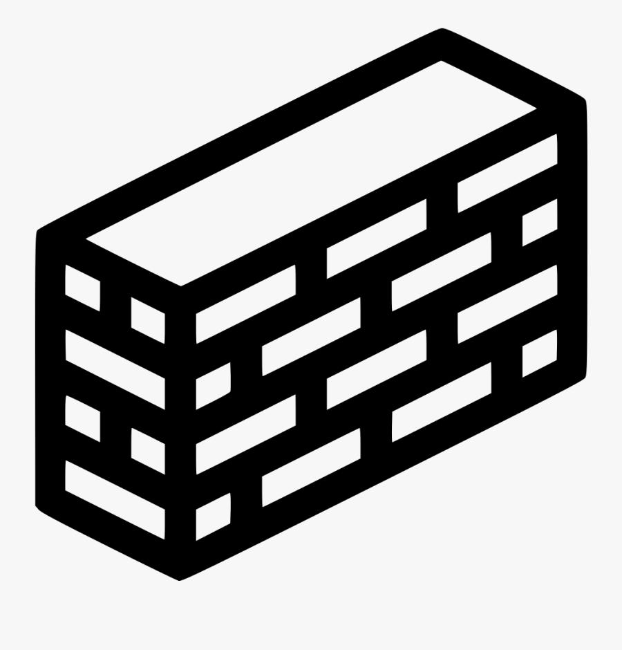 Brick Wall - Brick Wall Icon Png, Transparent Clipart