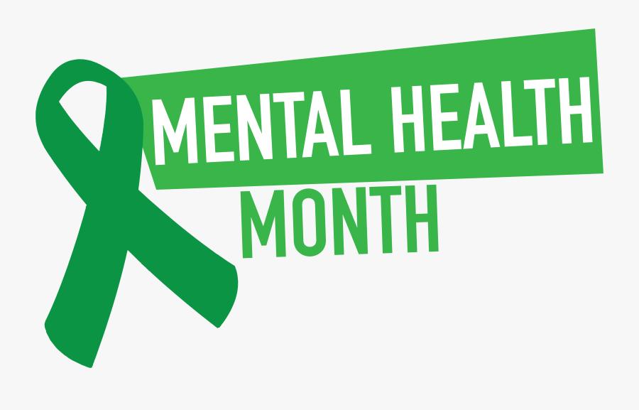 National Mental Health Month 2019, Transparent Clipart