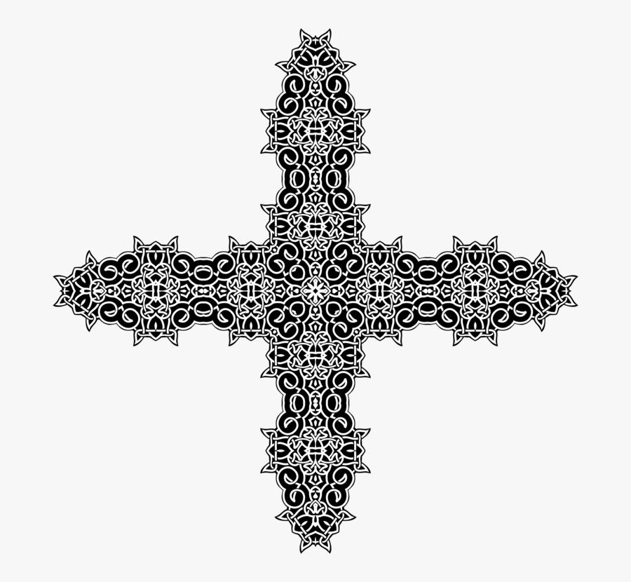 Symbol,cross,christian Cross - Cross, Transparent Clipart