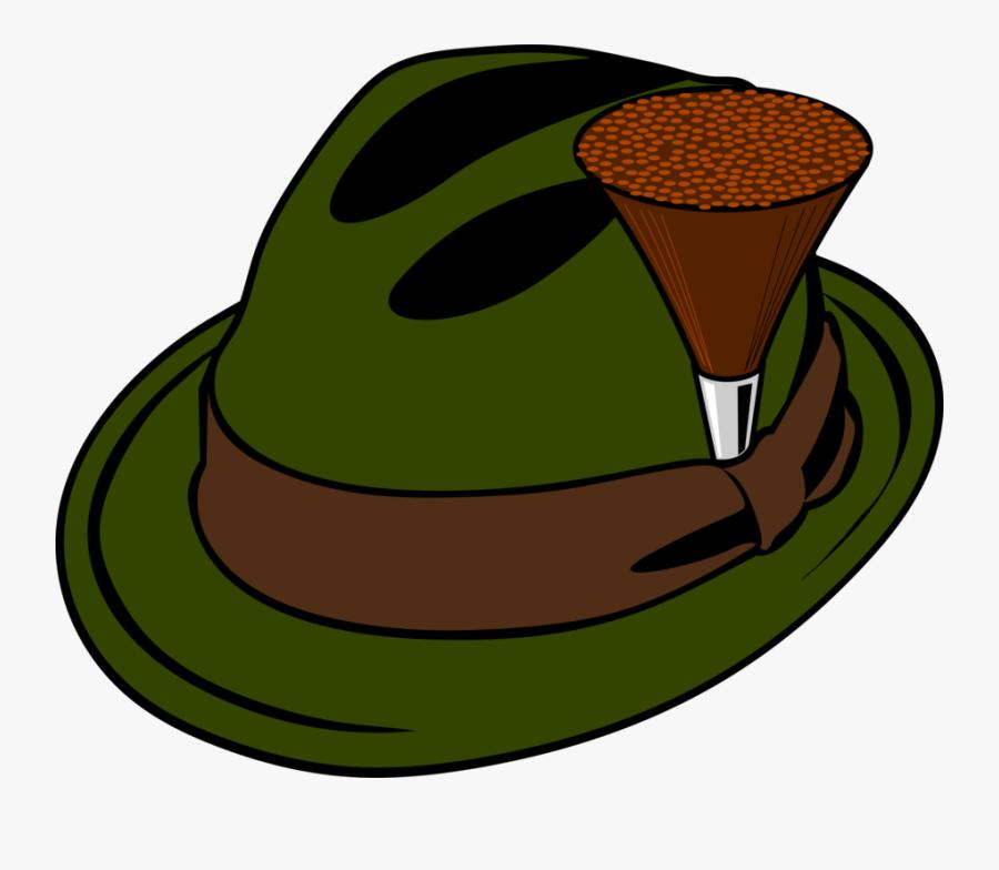 Cap,green,headgear - Hunter Hat Clipart, Transparent Clipart