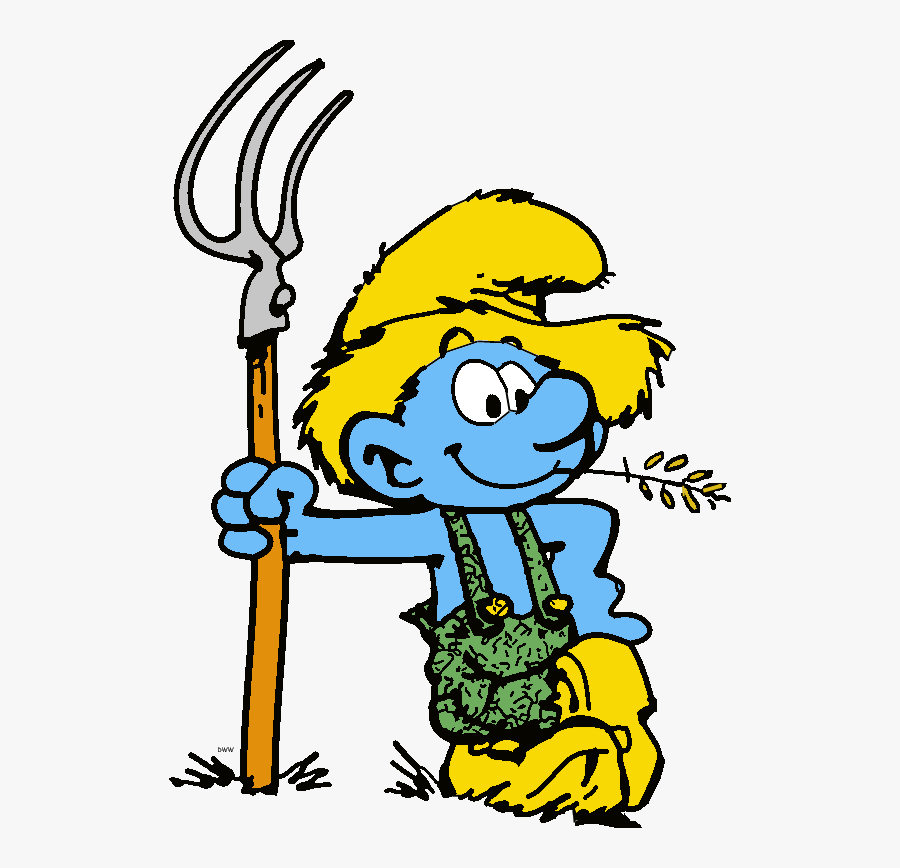 Disney Cartoon Characters, Cartoon Art, Smurfette, - Smurf Coloring Pages, Transparent Clipart