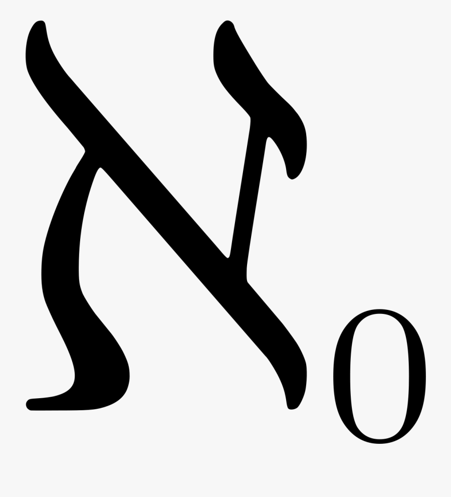 Aleph Null, Transparent Clipart
