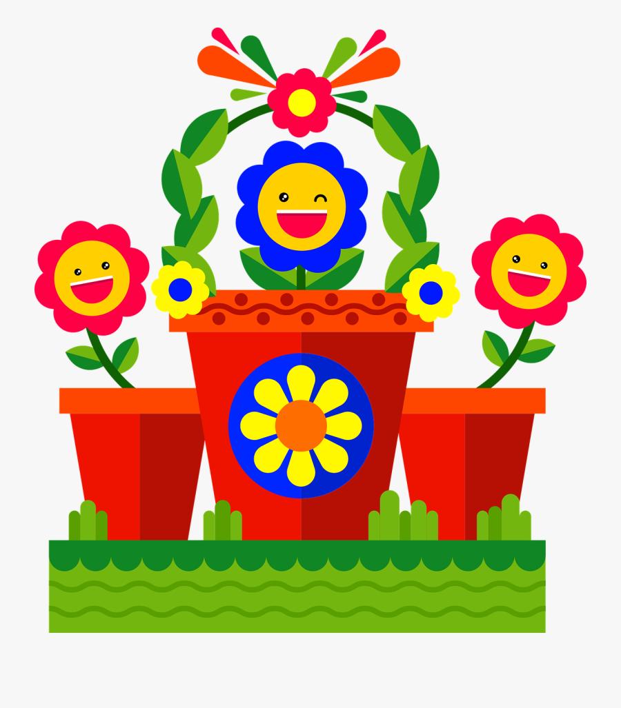 Emoji Flowers Garden Free Picture - Garden Emoji, Transparent Clipart