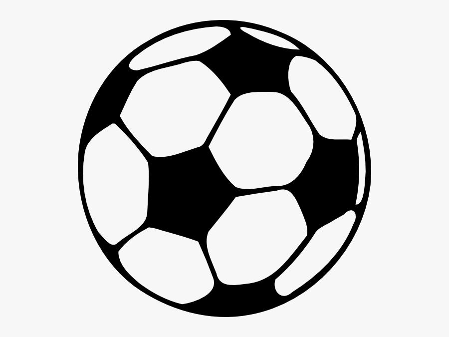 Soccer Ball Outline , Transparent Cartoons - Ball For Dream League Soccer 2018, Transparent Clipart