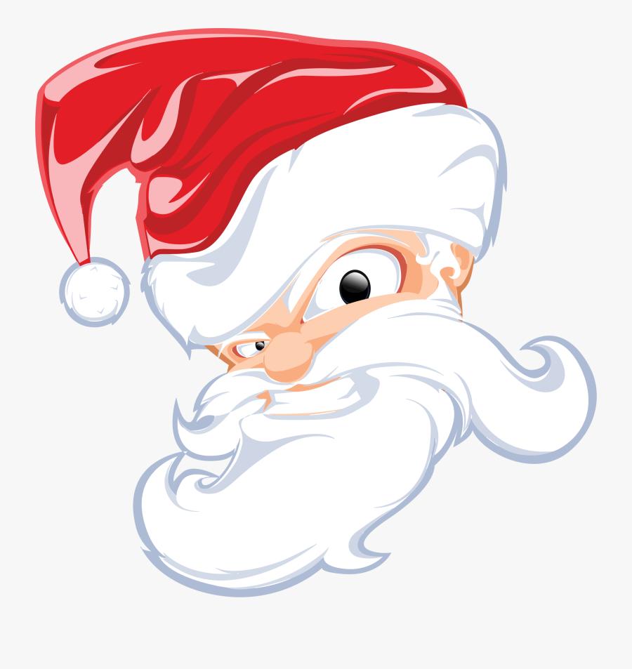 Nicholas, Public Holidays, God, Christmas, Holy - Santa Head Clip Art, Transparent Clipart