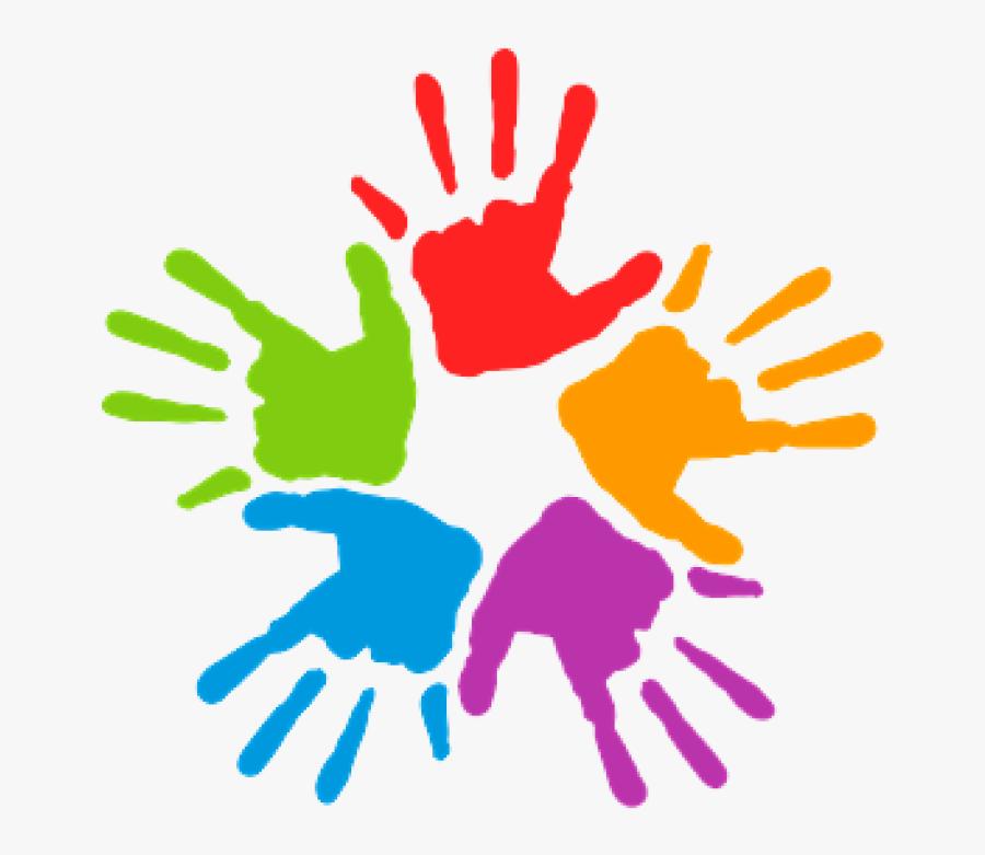 Transparent Worship Hands Png - Painted Hands Clipart, Transparent Clipart