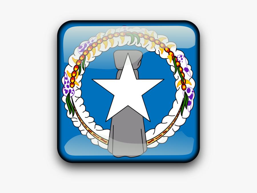 Symbol,saipan,united States - Northern Mariana Islands Flag Png, Transparent Clipart