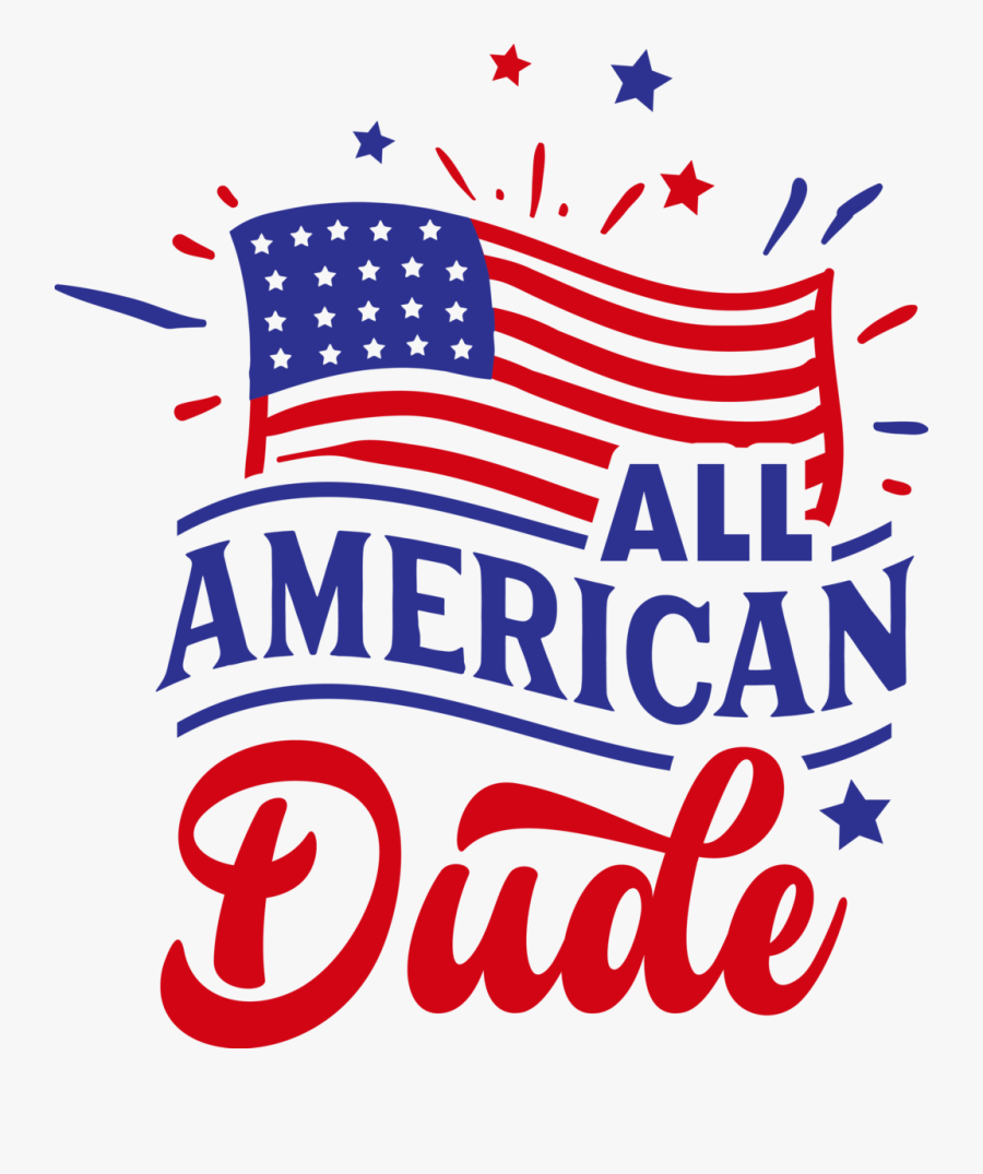 Transparent God Bless America Clipart Free - Flag Of The United States, Transparent Clipart