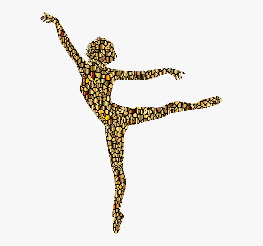 Transparent Worship Dance Clipart - Silueta De Mujer Bailando, Transparent Clipart