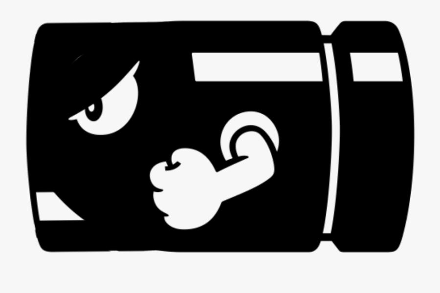 #piston - Bullet Bill Decal, Transparent Clipart