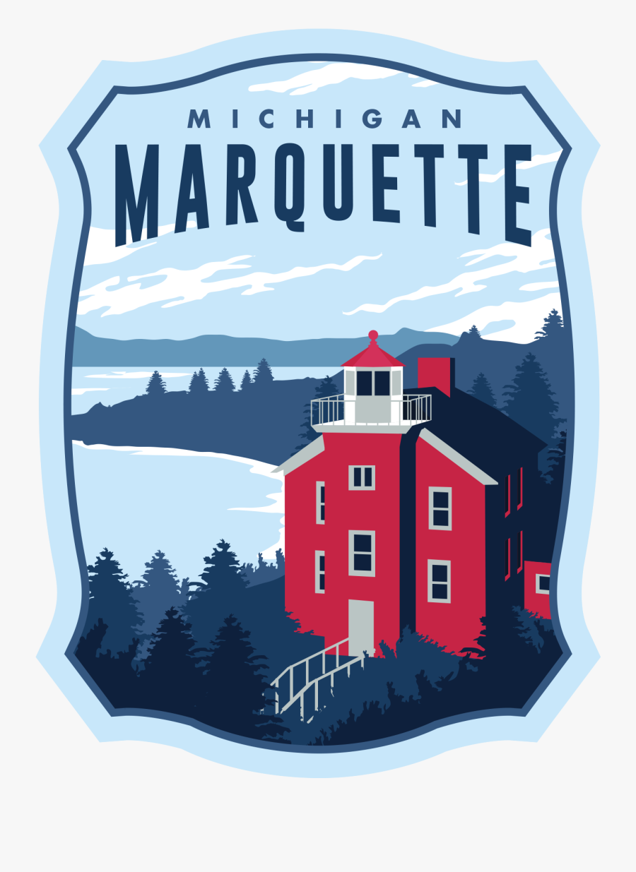 """Marquette Lighthouse""""  Class=""""lazyload Lazyload Mirage - Illustration, Transparent Clipart"""