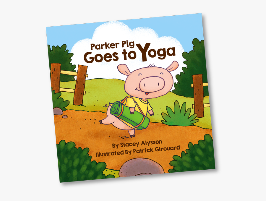 """Image Of Front Cover From Children""""s Book Parker Pig - Front Cover Of Children's Book, Transparent Clipart"""