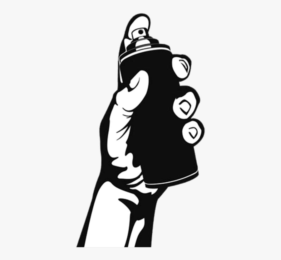 ²██ #black #hand #graffiti #blackpainted #underground - Hand, Transparent Clipart