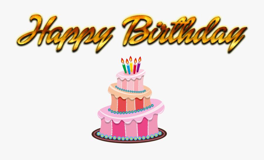 Cake Decorating Supply,cake,cake Decorating,birthday - Happy Birthday Cake Png, Transparent Clipart